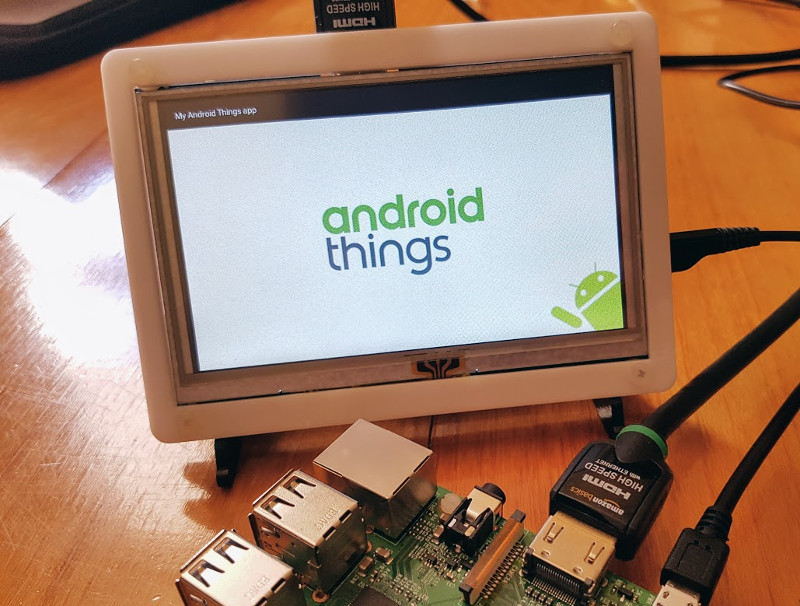 Android Things Using External Displays